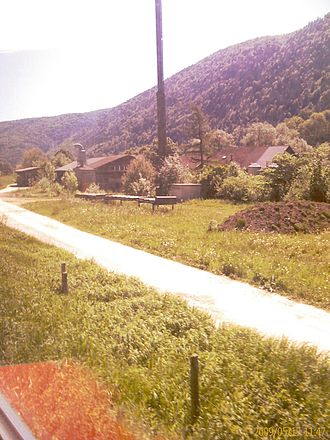 La Heutte - La Heutte village