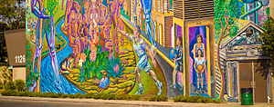 City Terrace, California - City Terrace Park Mural