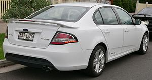 Ford Falcon (FG) - FG Falcon XR6 sedan