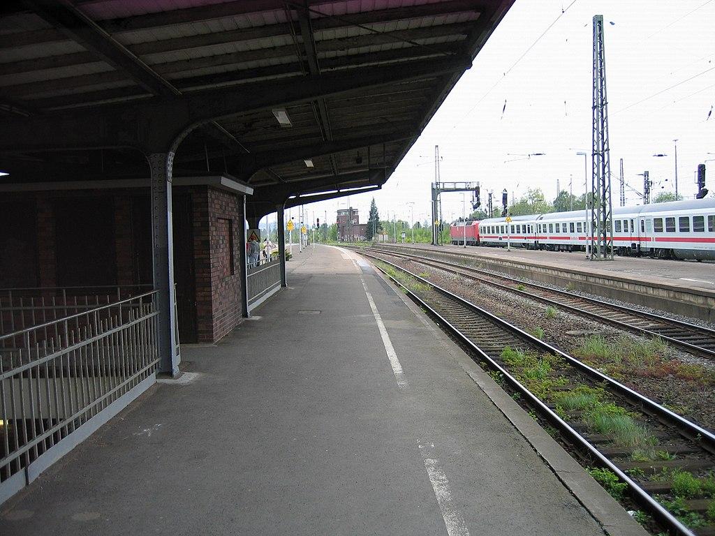 Bahnhof L Hne file 2010 05 11 löhne hbf 14 jpg wikimedia commons