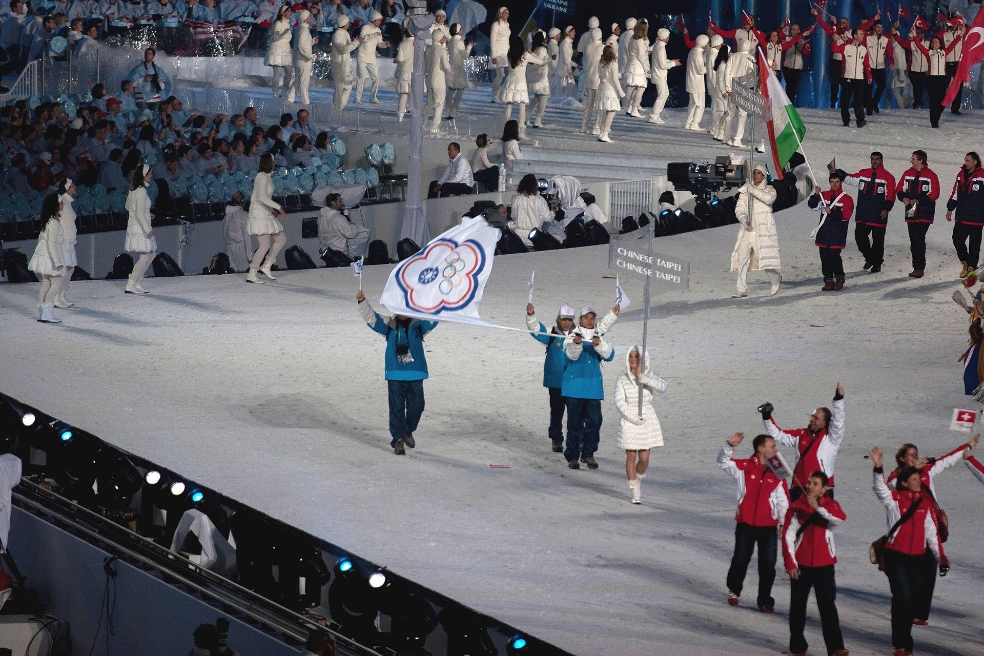 Opening Ceremony Chinese Taipei Entering Cropped Voleybol Vikipediya