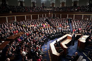 112th United States Congress - President Obama delivered the 2011 State of the Union Address on January 25, 2011