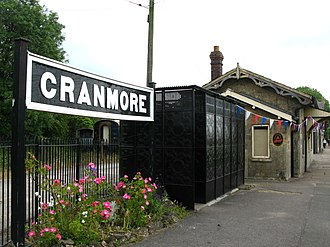 East Somerset Railway - Image: 2011 at Cranmore station gents toilet
