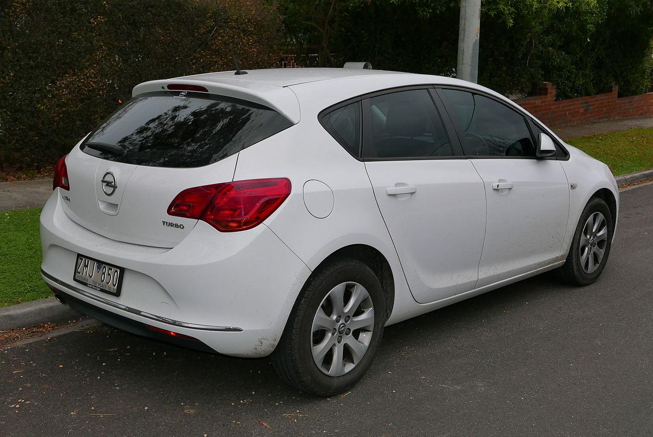 File:2012 Opel Astra (AS) 1 4 Turbo 5-door hatchback (2015