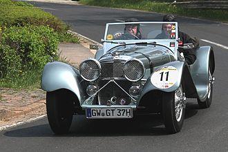 SS Cars - SS Jaguar 100 1938