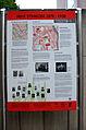 2013-09-15 Gedenktafel Neue Synagoge Hannover (22) Die Informationstafel zum Zeitpunkt ihrer Enthüllung in der Roten Reihe.JPG