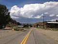 2014-07-30 13 33 14 View west along Main Street in Manhattan, Nevada.JPG