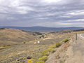2014-09-08 14 57 35 View of Austin, Nevada from U.S. Route 50 near Austin Summit.JPG