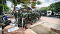 2014 0526 Thailand coup Chang Phueak Gate Chiang Mai 03.jpg