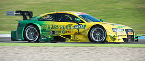 Mike Rockenfeller - Rockenfeller competing in the 2014 DTM season.