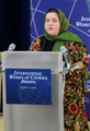 2014 International Women of Courage Awardee Dr. Nasrin Oryakhil, Director of Malalai Maternity Hospital in Kabul Afghanistan delivers remarks.png