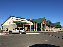 2015-04-18 07 33 23 The Elko Regional Airport Terminal in Elko, Nevada.jpg
