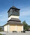 2015 Dzwonnica przy kościele św. Bartłomieja w Czermnej.jpg