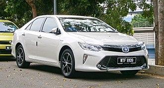 Toyota Kirloskar Motor - Toyota Camry Hybrid