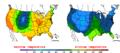 2016-04-18 Color Max-min Temperature Map NOAA.png