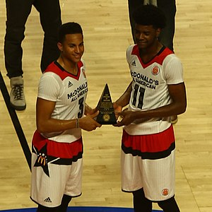 2016 McDonald's All-American Boys Game - co-MVPs Frank Jackson and Josh Jackson