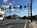 2017-06-02 17 17 11 View west along Maryland State Route 922 (Churchville Road) at U.S. Route 1 Business northbound and Maryland State Route 924 northbound (Main Street) in Bel Air, Harford County, Maryland.jpg