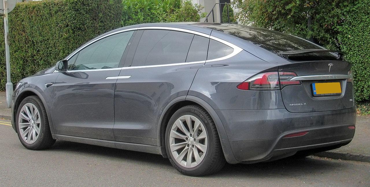 File:2017 Tesla Model X 100D Rear.jpg