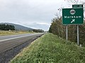 2018-10-15 12 48 59 View east along Interstate 66 at Exit 18 (Virginia State Route 688, Markham) in Markham, Fauquier County, Virginia.jpg