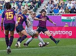 2019-05-18 Fußball, Frauen, UEFA Women's Champions League, Olympique Lyonnais - FC Barcelona StP 1004 LR10 by Stepro (cropped) 2.jpg