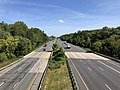 2019-09-03 11 04 27 View north along U.S. Route 29 (Columbia Pike) from the overpass for the ramp from northbound U.S. Route 29 to westbound Broken Land Parkway in Columbia, Howard County, Maryland.jpg