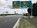 2019-09-17 14 07 33 View east along Virginia State Route 7 (Leesburg Pike) at the exit for Virginia State Route 267 WEST (Dulles Airport) on the edge of McLean and Wolf Trap in Fairfax County, Virginia.jpg
