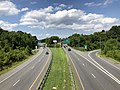 2020-08-05 14 57 53 View north along Maryland State Route 157 (Merritt Boulevard) from the overpass for Maryland State Route 151 (North Point Boulevard) in Dundalk, Baltimore County, Maryland.jpg