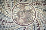2044 - Archaeological Museum, Athens - Garden - Mosaic - Photo by Giovanni Dall'Orto, Nov 11 2009.jpg