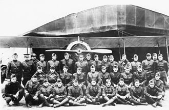 24th Aero Squadron - 24th Aero Squadron, Vavincourt Aerodrome, France, November 1918