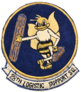 28th Logistic Support Squadron - AFLC - Emblem.png