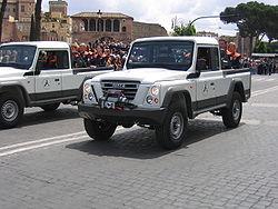 Iveco Massif podczas parady wojskowej, 2 czerwca 2007