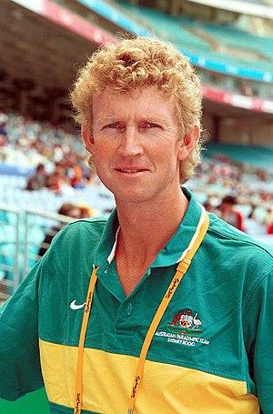 Chris Nunn - Portrait of Nunn at the 2000 Summer Paralympics