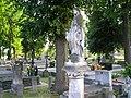 3 Kościelec cmentarz - nagrobek z 1918 r. (26.VI.2006).JPG