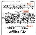 401 CE Udayagiri Sanskrit inscriptions Hindu caves.jpg