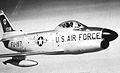 456th Fighter-Interceptor Squadron North American F-86D-45-NA Sabre 52-4197 1955.jpg
