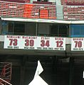 49ers retired numbers at Candlestick Park 2009-06-13 crop.jpg