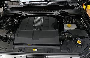 Range Rover (L405) - Supercharged 5.0 L V8 petrol