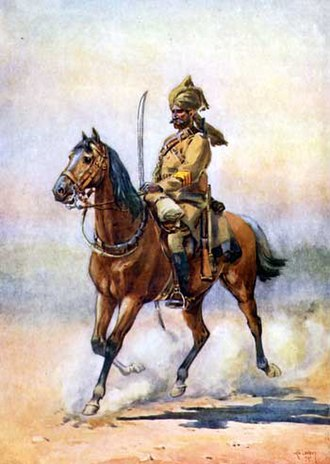 12th Cavalry (Frontier Force) - Image: 5th Punjab Cavalry 1910