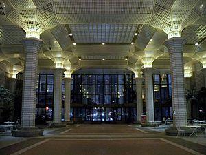 60 Wall Street - Atrium next to 60 Wall Street