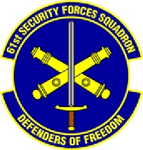 61 Security Forces Sq emblem.png