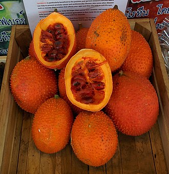 Carotenoid - Gac fruit, rich in lycopene