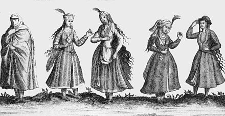 Lady's clothing in the 1600s 74 Chardin Safavid Persia women customs.jpg