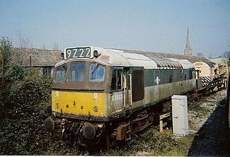 British Rail Class 25 - Preserved Class 25 on the Dean Forest Railway
