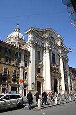 8329 - Roma - San Carlo al Corso - Facciata - Foto Giovanni Dall'Orto, 29-March-2008.jpg