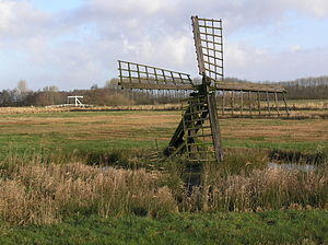 Tjaskers in Friesland - Tjasker De Hoeve, December 2005