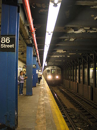 IND Eighth Avenue Line - Image: 86st station