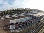 8 - Dzielnica mieszkaniowa Łódź Widzew i Dworzec Kolejowy Dji Phantom 3.JPG