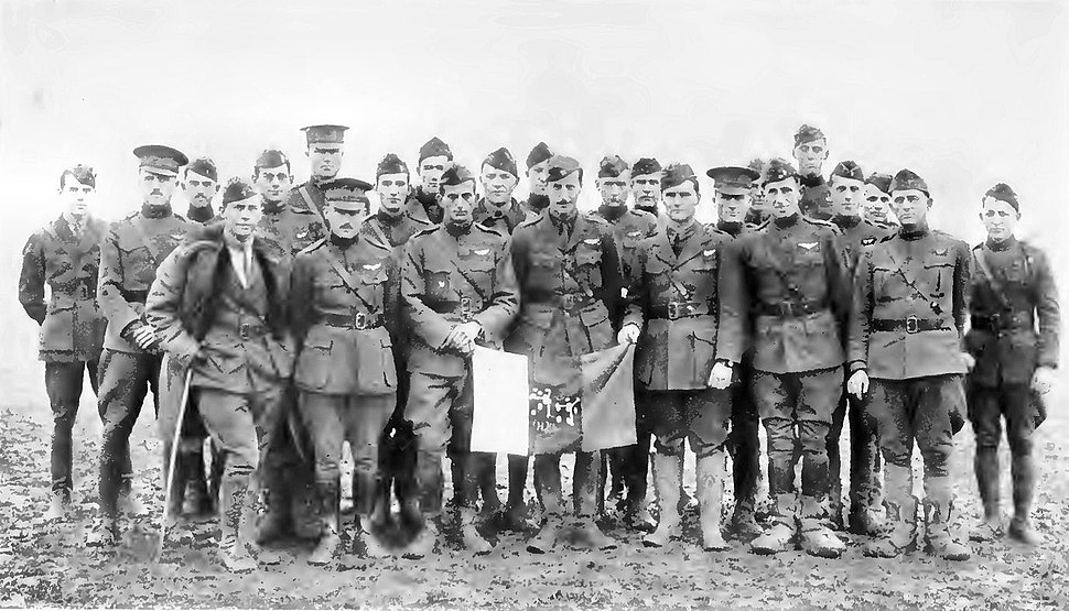 90th Aero Squadron 11-11-1918