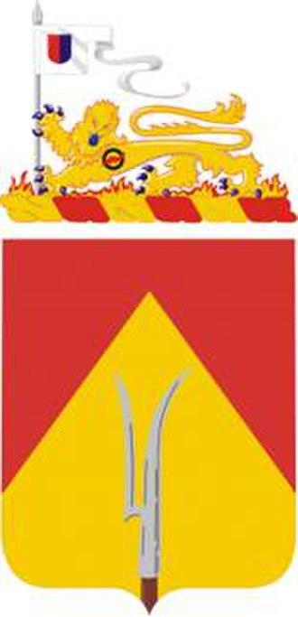 94th Field Artillery Regiment - Coat of arms