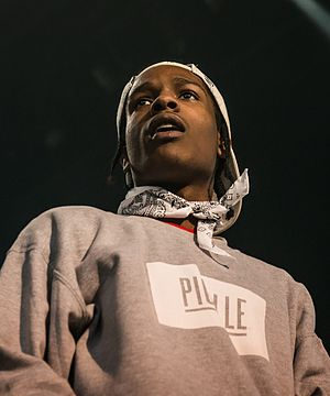Good for You (song) - Image: A$AP Rocky UIT 2013 (cropped)